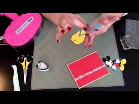 The Craftin' Geek {Disney Mickey Mouse Birthday Card}
