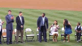 LIVE HD KEN GRIFFEY JR MARINERS HALL OF FAME INTRO CAREER HIGHLIGHT VIDEO SAFECO 8/10/2013