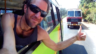 How is Bus Travel in INDIA? Awesome Goa Bus Trip