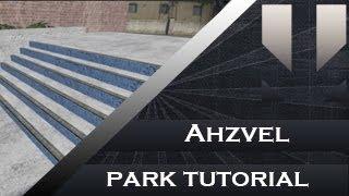 Skate 3 park tutorial : stairs