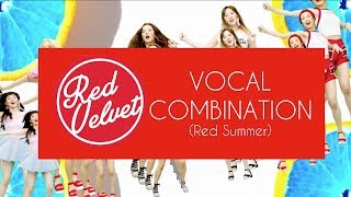 [vocal/voice combination] red velvet: red summer edition