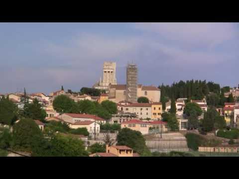 Via Aurelia between Nice and Menton. Le Trophée de...
