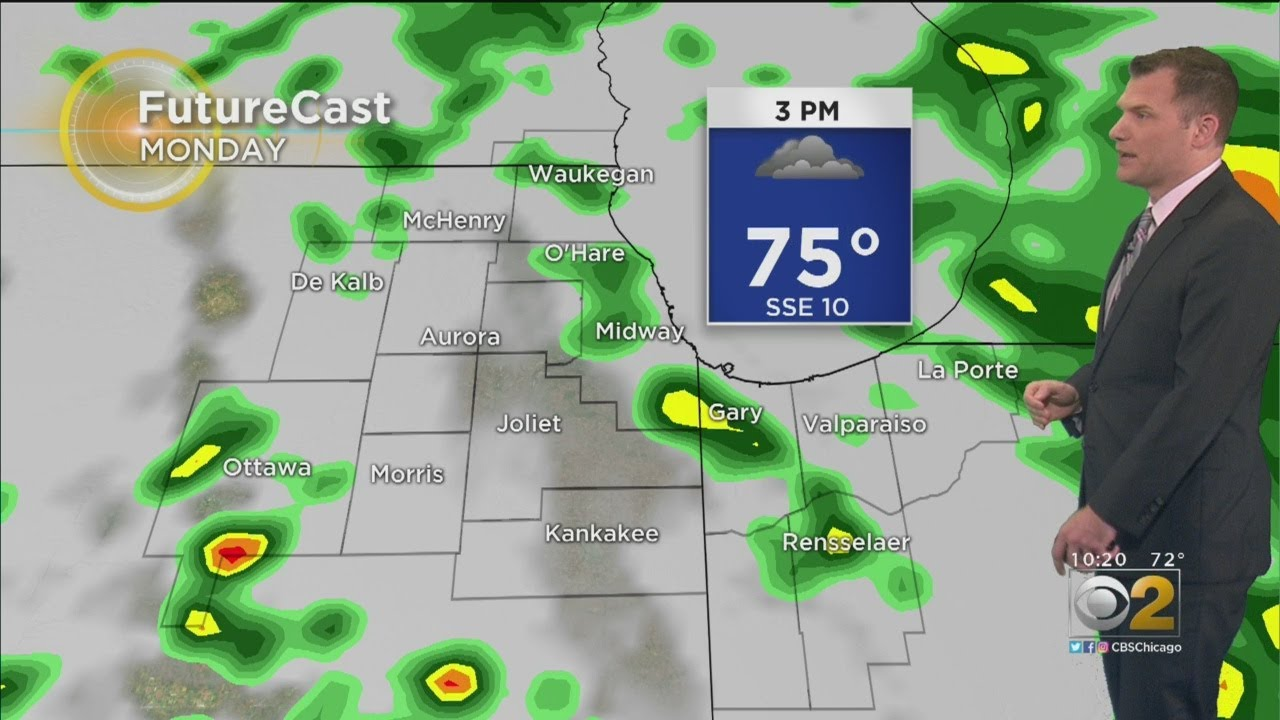 CBS 2 Weather Watch: 10 P M  8-25-19