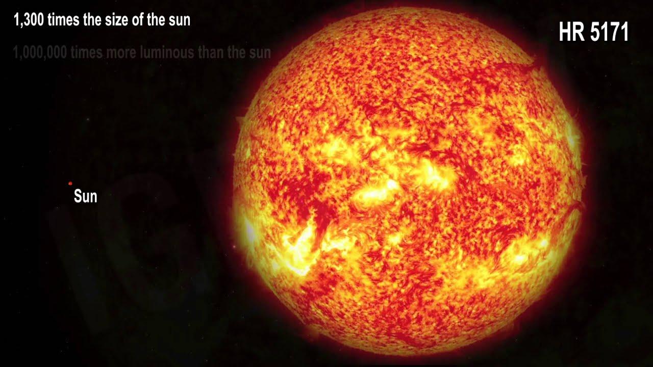Descubren una estrella hipergigante: HR 5171 / Hypergiant star ...