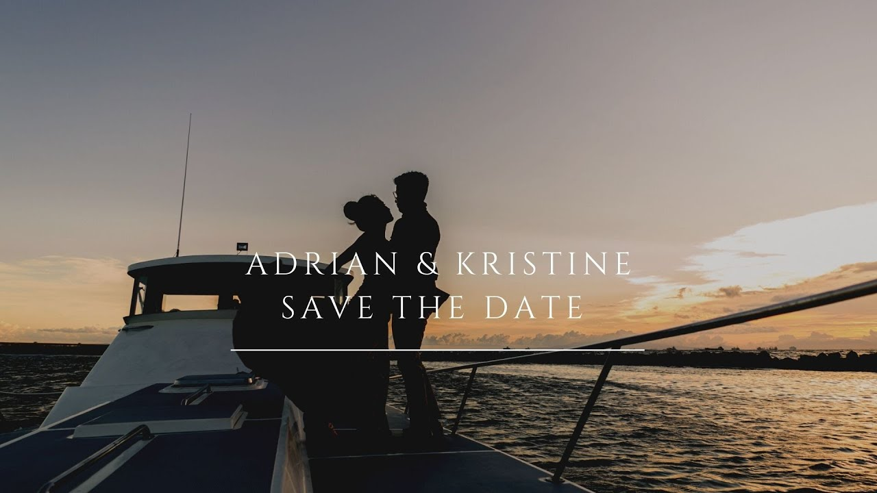 Nordic Themed Prenup of Adrian and Kristine | Yacht Sunset Pre-Wedding