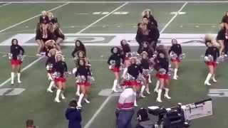 The Ottawa Redblacks Cheer and Dance Team 2015-Pump Up The Jam