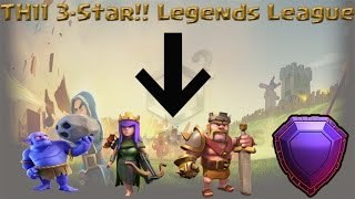 Clash of Clans - Max *TH11 3 Star attack* Bowlers, Legends League Farming!!