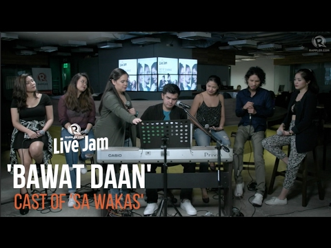 Cast of 'Sa Wakas' – 'Bawat Daan'