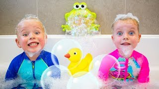 Download Bath Song Nursery Rhymes song for Kids from Gaby and Alex Mp3 and Videos