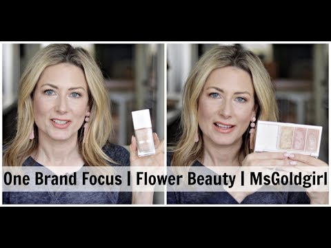 One Brand Focus | Flower Beauty | MsGoldgirl