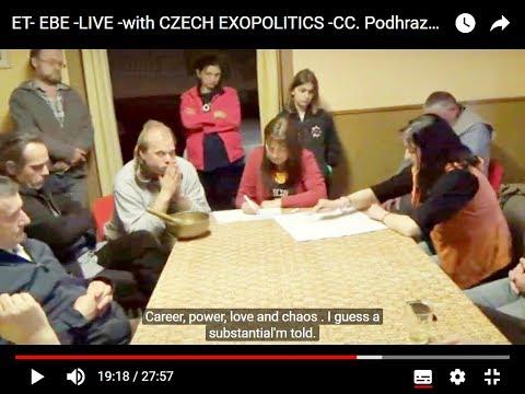 ET EBE: LIVE CZECH EXOPOLITICS - Podhrazska Ivana, ILona-Subtitles CC.-