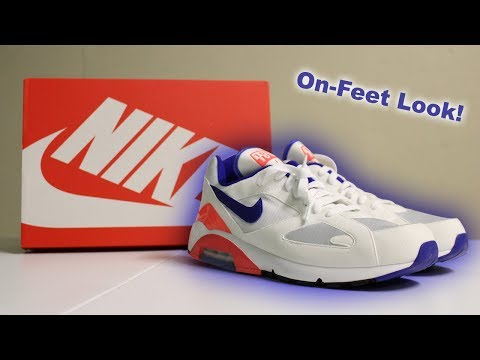 "Unboxing Air Max 180 ""Ultramarine"" [Sneaker Unboxing]"