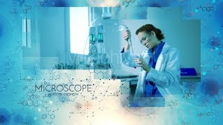 Microscope Video Slideshow After Effects Template