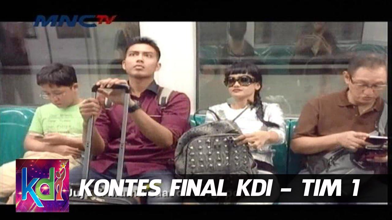 Download Cerita Seru Mumu ( Mukhlis ) Juju ( Julia Perez ) di Singapure - Kontes Final KDI Tim 1 (13/5)