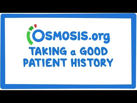 Osmosis's 3 strategies to taking a good patient history