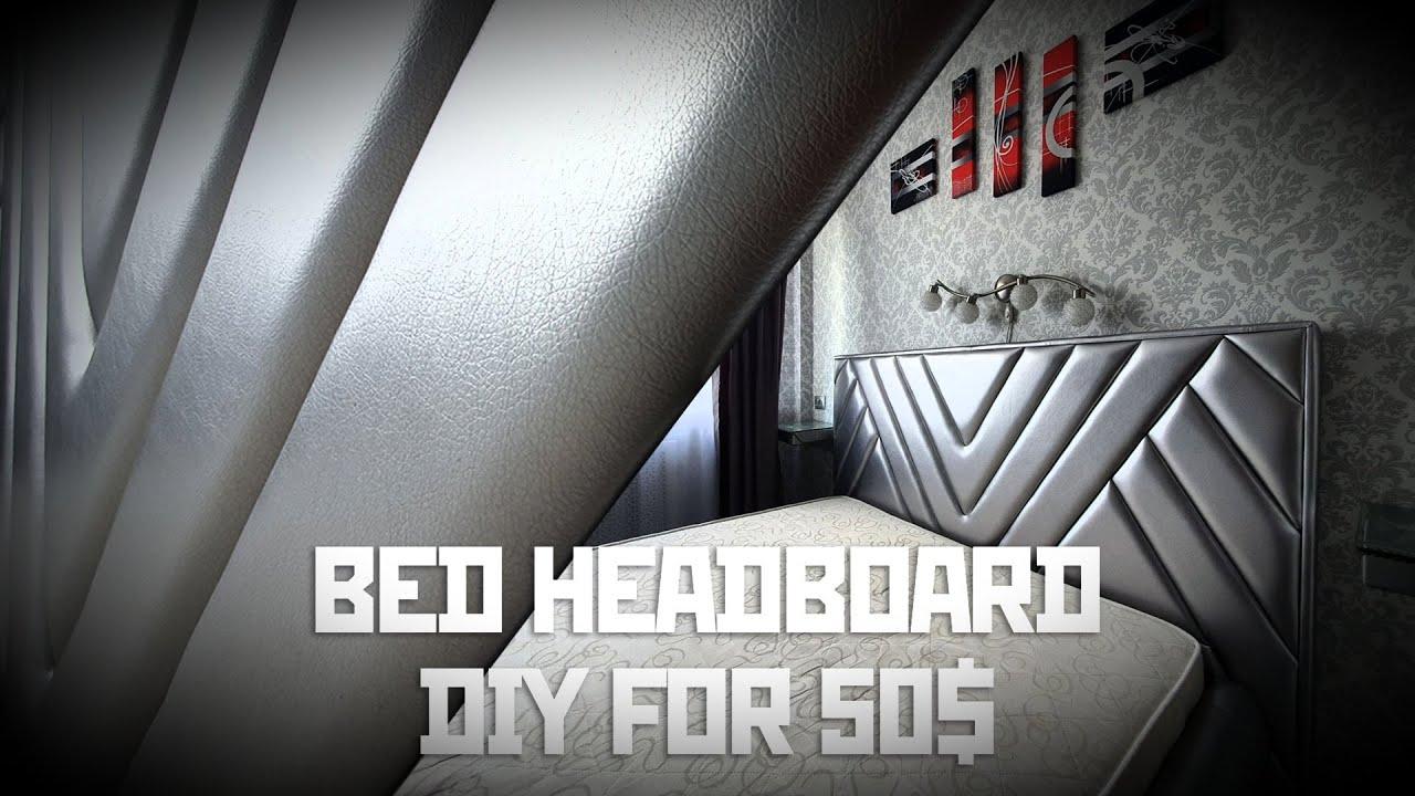 Изголовье для кровати из 20ти мягких деталей своими руками. Мягкая мебель. headboard bed DIY