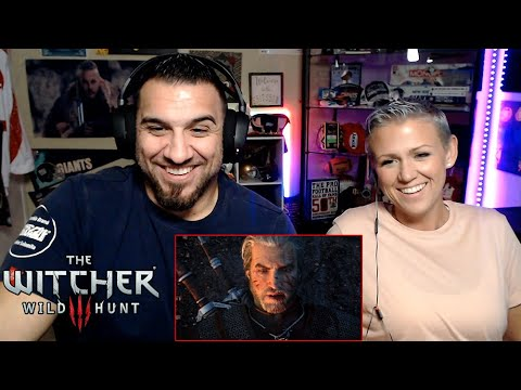 The Witcher 3: Wild Hunt - A Night to Remember Trailer REACTION!!