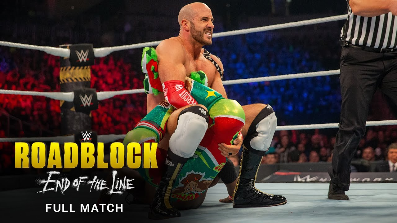 FULL MATCH: The New Day vs. The Bar – Raw Tag Team Title Match: WWE Roadblock: End of the Line 2016