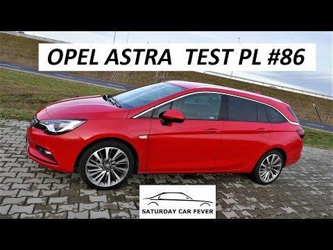 Opel ASTRA 1.4 150KM - TEST PL