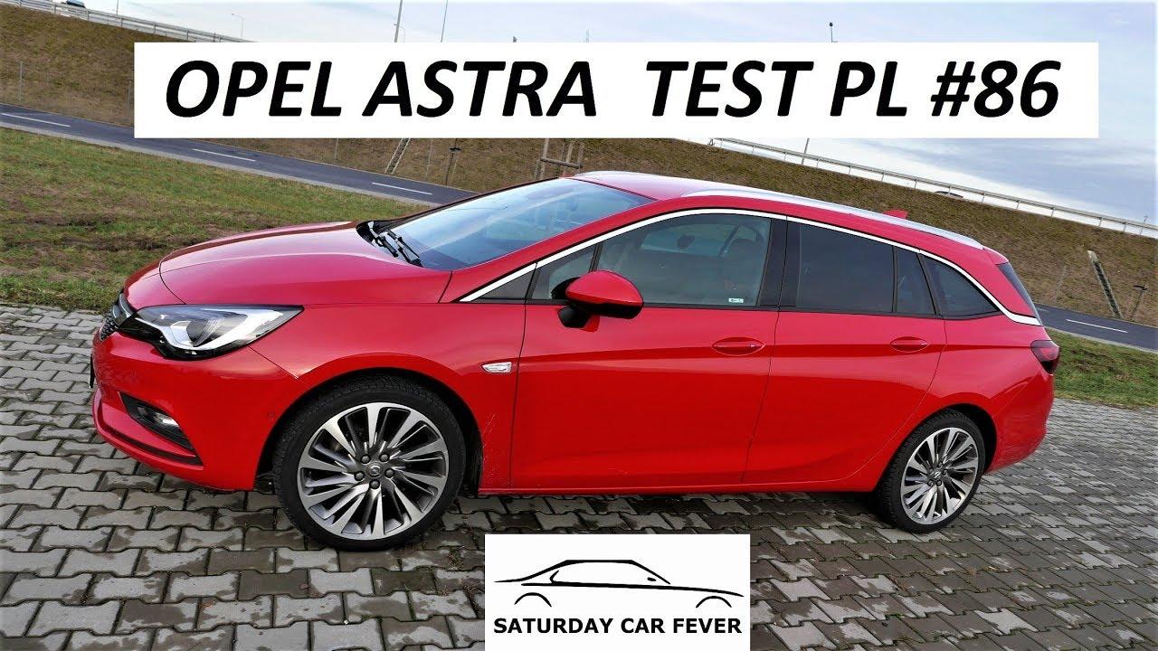 Opel ASTRA 1.4 150KM – TEST PL