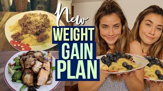 What I Eat In A Day - Weight Gain/Booty Gainzz (Day 1)