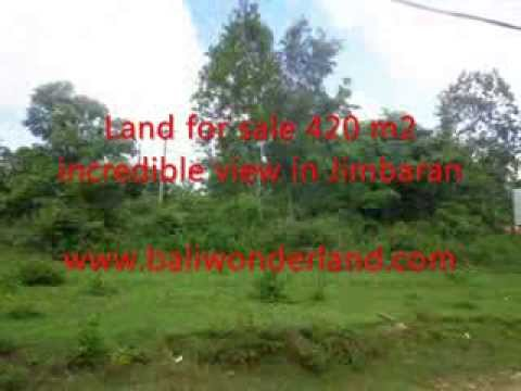Land for sale in Bali Indonesia, stunning villa environtment in Jimbaran Ungasan Bali -- TJJI060