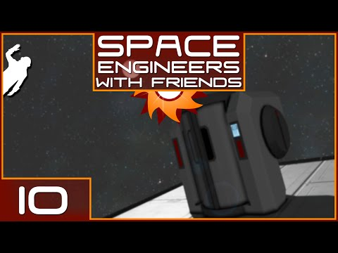 Space Engineers with Friends - Episode 10 ...Cryo Chamber of Death...