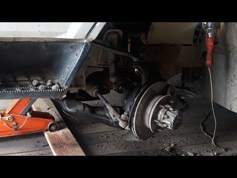 Ремонт ходовки на грузовичке Hiace