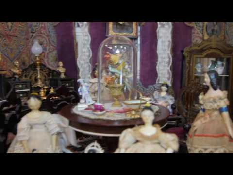 Bread and Roses Part 8&9(No Music) - Antique Dollhouses and Miniaturia