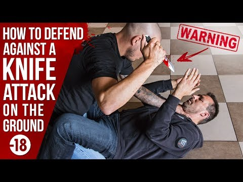 HOW TO DEFEND AGAINST A KNIFE ATTACK ON THE GROUND by Fred Mastro