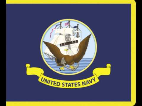 The flag of the United States Navy