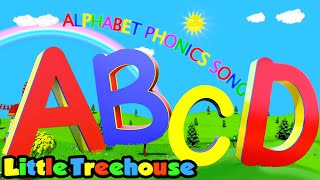 Alphabet Phonics Song | Learning Videos for Kids | Nursery Rhymes & Songs by Little Treehouse