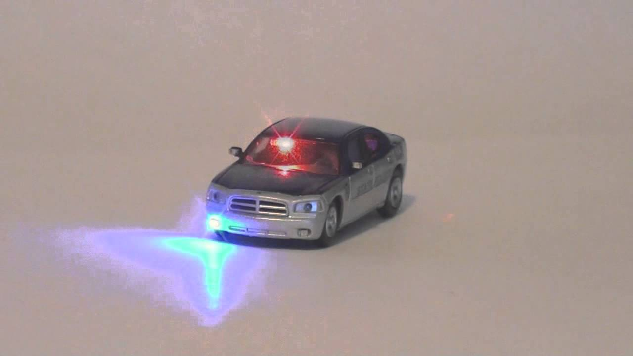 Ho Scale State Police Dodge Charger With Led Lights Youtube