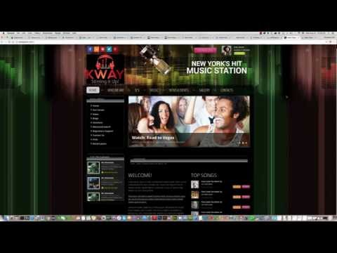 How To Change Header Text In Joomla Radio Station Template ID: 300111904