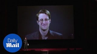Edward Snowden comments on Donald Trump's election victory - Daily Mail