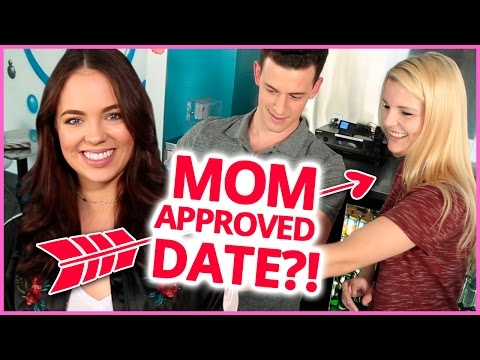 MOM PICKS BLIND DATE | Myth Matchmaker w/ Claudia Sulewski