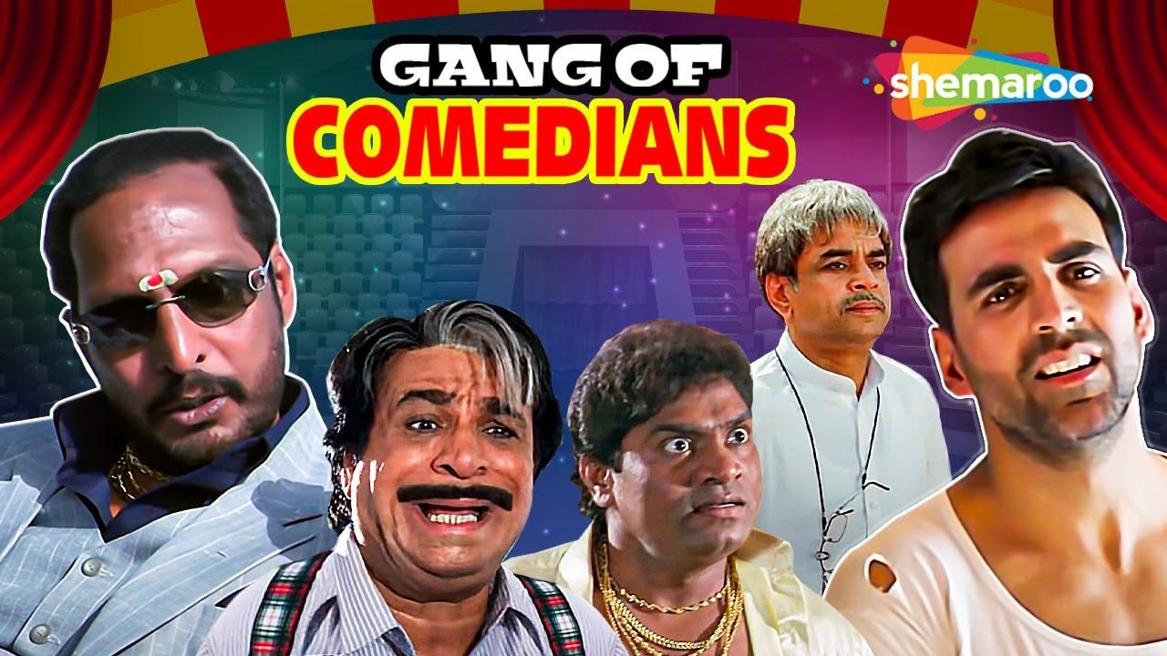 Gang of Comedians   Best Comedy Scenes   Rajpal Yadav -Johnny Lever - Paresh Rawal - Akshay Kumar
