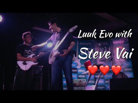 Steve Vai MasterClass 2015 - Jam with LUCAS LIMA - SP