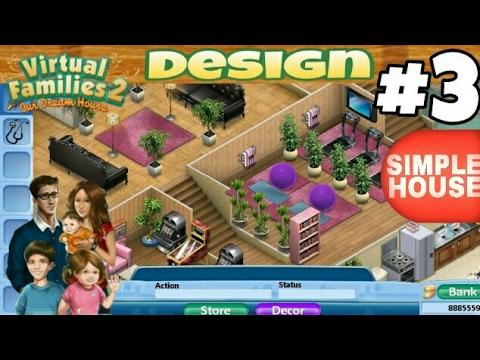 Virtual Families 2 House Design 3 Simple