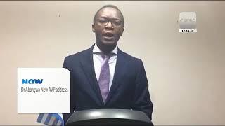 AVP Dr. Abongwa address the Nation! Watch... SCBC TV