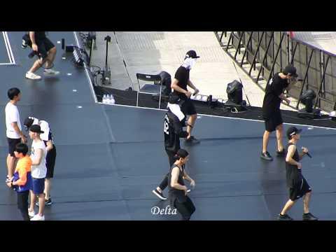 150822 XI'AN con love me right SEHUN focus ( + rehearsal)