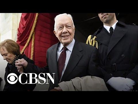 Former President Jimmy Carter hospitalized