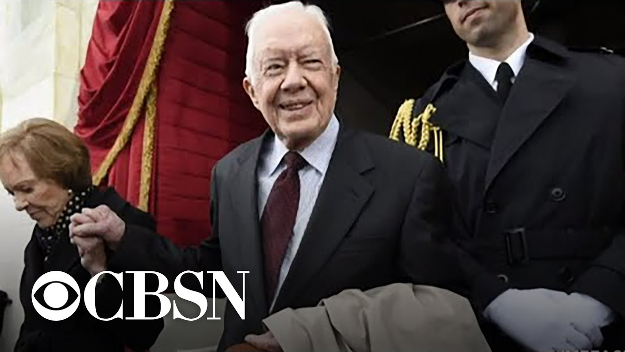 Former President Jimmy Carter hospitalized