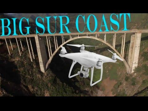 Aerial Photography of the Big Sur Coastline