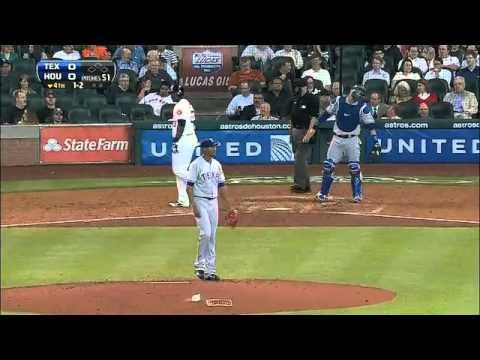 2013/04/03 Ogando † s 10 strikeouts