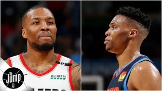 2019 NBA playoffs preview: Blazers on sweep alert vs. OKC? Nuggets in trouble vs. Spurs? | The Jump