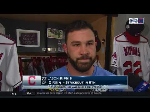 Jason Kipnis thinks Yankees deserved to win, but Indians were still the better team   ALDS GAME 5
