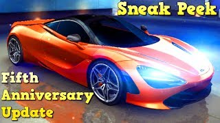720S & MORE! Fifth Anniversary Update (Sneak Peak) Asphalt 8