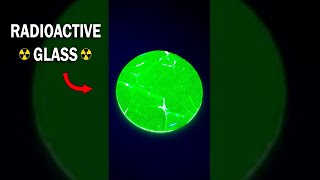 This is radioactive uranium glass