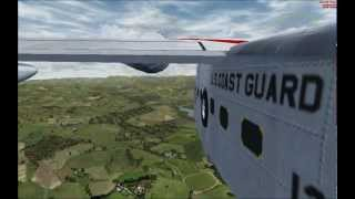 Grumman Albatross landing in Lake District - ORBX England - Microsoft FSX Flight Simulator